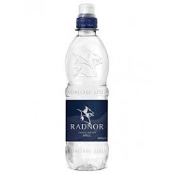 Radnor Hills Natural Spring Water Sports Cap 24 x 500ml